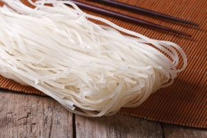 Rice noodles are a tasty alternative to wheat noodles