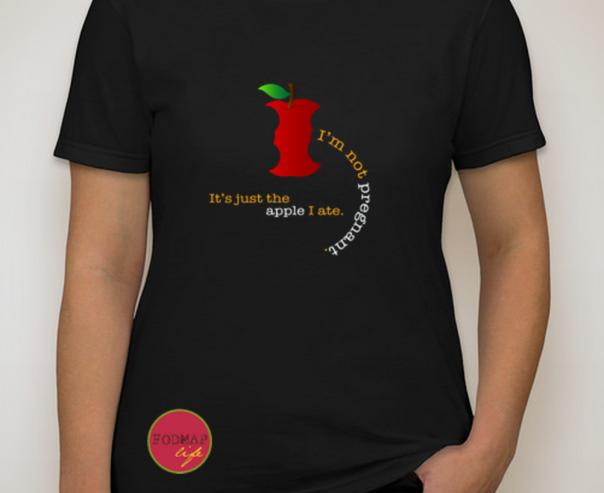 """FODMAP Life T-Shirt """"I'm Not Pregnant..."""""""