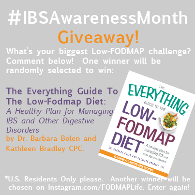 FODMAP LIFE EVERYTHING GUIDE GIVEAWAY