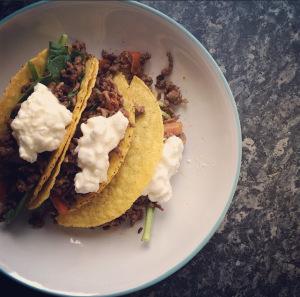 Beef Tacos: Low-FODMAPRecipe
