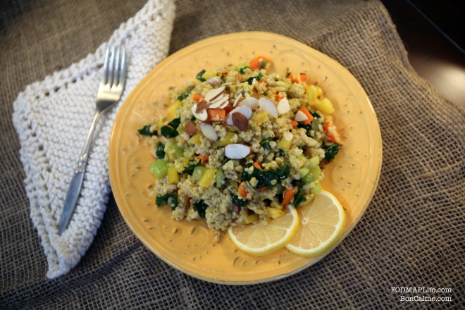 low fodmap grain salad