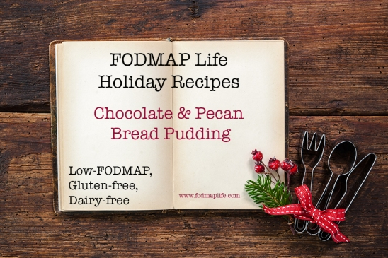 LOW FODMAP BREAD PUDDING