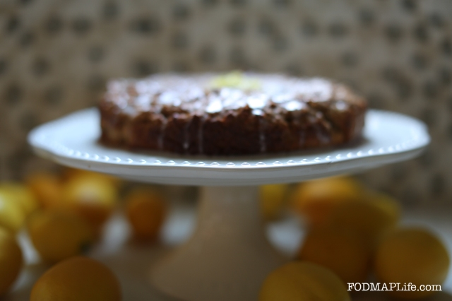 low fodmap lemon olive oil cake 1