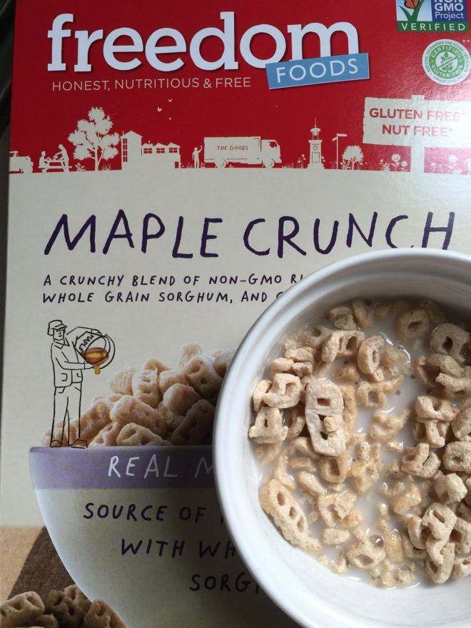 freedom cereal low fodmap