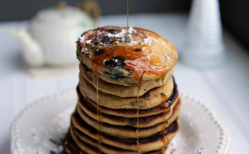 New Recipe: Low-FODMAP Blueberry LavenderPancakes