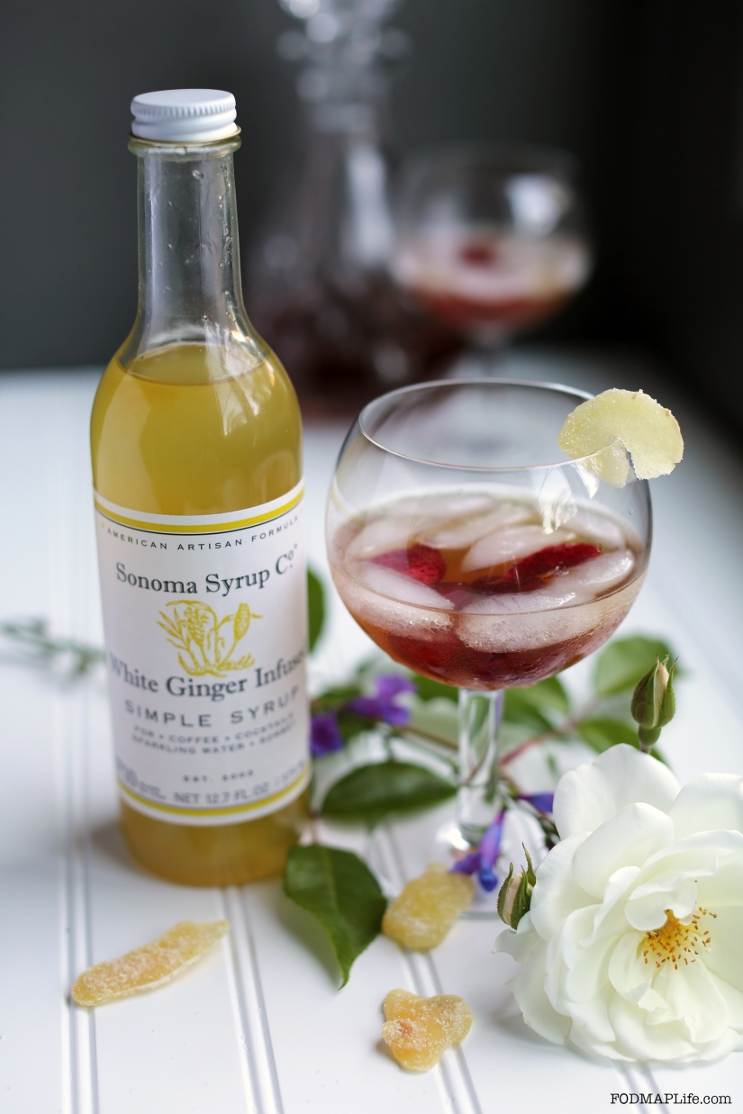 How to Make a Low-FODMAP Shrub with Sonoma SyrupCo.