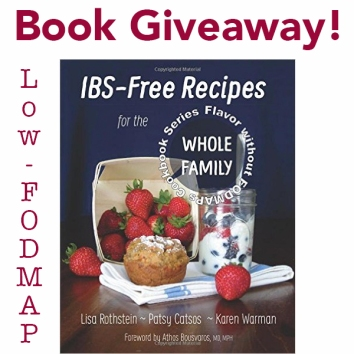 low fodmap book giveaway